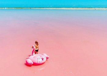 Los 10 lagos rosas más maravillosos del mundo
