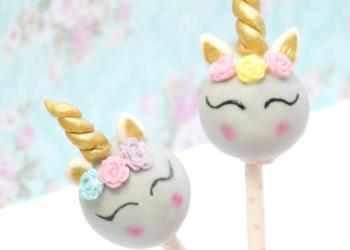Cómo hacer los cake pops de unicornios más fáciles, lindos y ricos